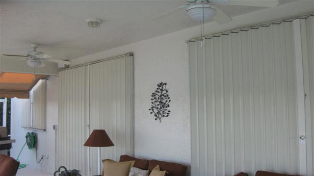 Aluminum Accordion Shutters Pembroke Pines Installation