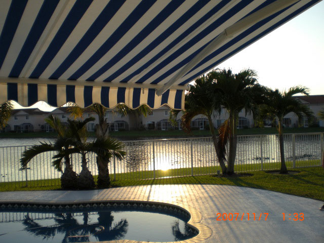 Retractable Awnings Weston, pembroke pines, hollywood, miramar, plantation, daina beach